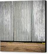 Corrugated Metal Canvas Print