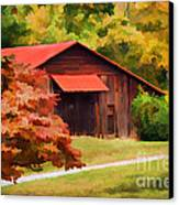 Country Charm Canvas Print by Darren Fisher