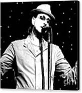 Cy Curnin - The Fixx - Vocalist Canvas Print by Anthony Gordon Photography