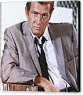 Darren Mcgavin Canvas Print by Silver Screen