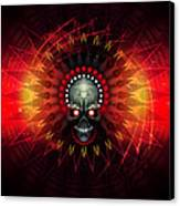 Deadstep - Hellfire Remix Canvas Print by George Smith