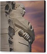Dr. Martin Luther King Jr Memorial Canvas Print by Susan Candelario