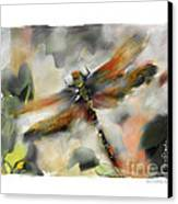 Dragonfly Garden Canvas Print