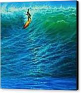 Dropping In Canvas Print by Joseph   Ruff