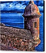 El Morro Fortress Canvas Print by Thomas R Fletcher