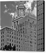 Esperson Buildings Houston Tx Canvas Print