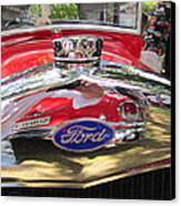 Ford Classic Car  Canvas Print by Max Lines