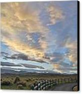 Fort Collins Sunset Canvas Print