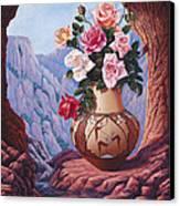 Fragrance And Dew Canvas Print by Ricardo Chavez-Mendez