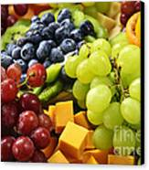 Fresh Fruits Canvas Print by Elena Elisseeva