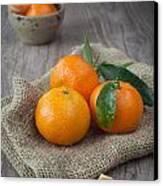 Fresh Tangerine Canvas Print by Sabino Parente