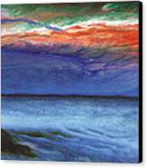 Frosty Wind Canvas Print