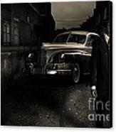 Gangster Canvas Print by Diane Diederich
