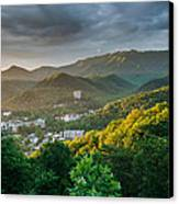 Gatlinburg Tennessee Great Smoky Mountain Sunrise Canvas Print