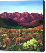 Gods Palette Canvas Print