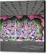 Graffiti Southbank Canvas Print by Maeve O Connell