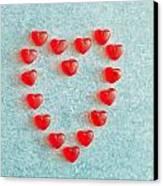 Heart Shape Canvas Print by Tom Gowanlock