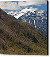 Rocky Mountains Canvas Print by Pro Shutterblade