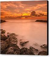Honolulu Sunset Canvas Print