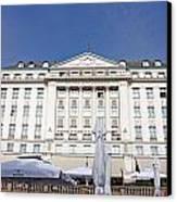 Hotel Esplanade Zagreb Canvas Print