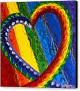 I Am Love Canvas Print by Judy M Watts-Rohanna