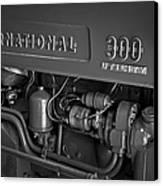 International 300 Utility Harvester Canvas Print