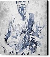 Jack Johnson Portrait Canvas Print