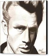 James Dean Canvas Print by Michael Mestas