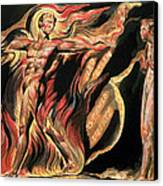 Jerusalem The Emanation Of The Giant Albion Canvas Print by William Blake