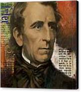 John Tyler Canvas Print by Corporate Art Task Force