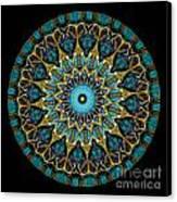 Kaleidoscope Steampunk Series Canvas Print