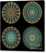 Kaleidoscope Steampunk Series Montage Canvas Print