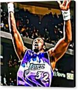Karl Malone Canvas Print