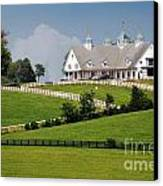 Keeneland Stables Canvas Print