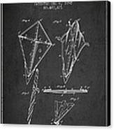 Kite Patent From 1892 Canvas Print