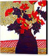 Lady Bug Canvas Print by Diane Fine