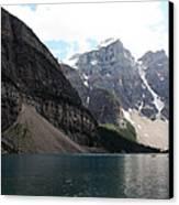 Lake Moraine Canvas Print by Carolyn Ardolino