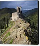 Lastours Castle Canvas Print by Ruben Vicente