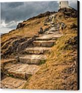 Lighthouse Steps Canvas Print