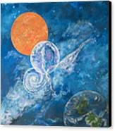 Making Love To The Universe - Infinitude Canvas Print by Judy M Watts-Rohanna