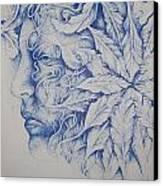 MAN Canvas Print by Moshfegh Rakhsha