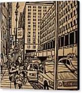 Manhattan Canvas Print by William Cauthern