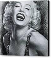 Marilyn Monroe Canvas Print by Viola El