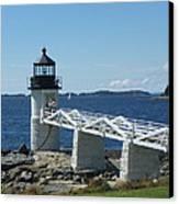 Marshall Point Lighthouse Canvas Print by Joseph Rennie