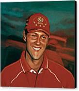 Michael Schumacher Canvas Print