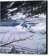 Montagna Panorama Canvas Print