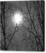 Moon Canvas Print by Jennifer Kimberly