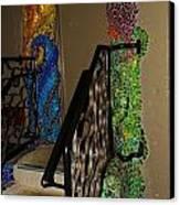 Mosaic Doorway Canvas Print by Charles Lucas