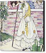 Mother Goose, 1916 Canvas Print by Granger
