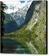 Mountainscape Canvas Print by Frank Tschakert